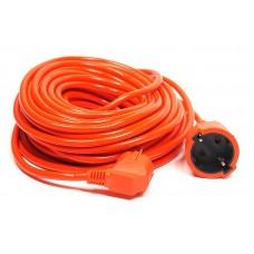 Удлинитель PowerPlant JY-3024/20 1 розетка 20m 10A оранжевый