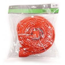 Удлинитель PowerPlant JY-3024/20 1 розетка 20m 10A Orange