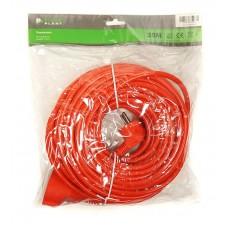Удлинитель PowerPlant JY-3024/25 1 розетка 25m 10A Orange