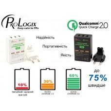 СЗУ ProLogix PQC-103Q2 42W 2.4A Black