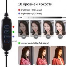 """Лампа кольцевая LED USB Puluz PU397 10.2"""" (PU397) Black"""