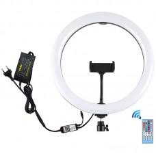 "Лампа кольцевая LED Puluz Bluetooth APP PU411EU 12"" (PU411EU) Black"