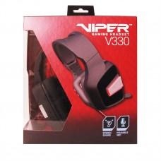 Наушники гарнитура накладные Patriot Viper V330 Stereo Gaming Black (PV3302JMK)