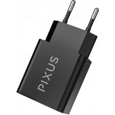 Адаптер сетевой Pixus Swift 2USB 2.1A Black PXS SB