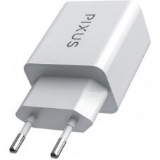Адаптер сетевой Pixus Swift 2USB 2.1A White PXS SW