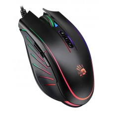 Мышь A4Tech Q81 Bloody Neon XGlide Curve Black USB