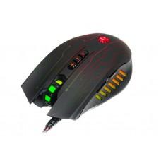 Мышь A4Tech Q81 Circuit Bloody Neon XGlide Black USB