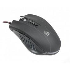 Мышь A4Tech Q81 Bloody Neon XGlide Black USB + коврик