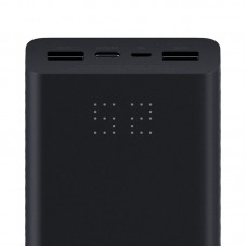 УМБ Power Bank Xiaomi ZMi Aura 20000mAh 2USB 3A Type-C Black (QB822)