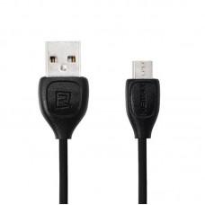 Кабель Remax Lesu RC-050m USB-MicroUSB 1m Black