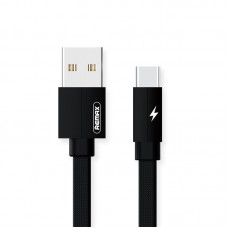 Кабель USB-Type-C Remax Kerolla 1m Black (RC-094A1M-Black)