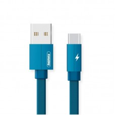 Кабель USB-Type-C Remax Kerolla 1m Blue (RC-094A1M-BLUE)