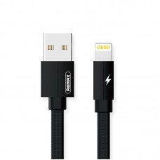 Кабель USB-Lightning Remax Kerolla 2m Black (RC-094I2M-Black)