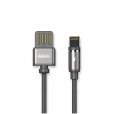 Кабель USB-Lightning Magnetic Remax Gravity 1m Tarnish Grey (RC-095I-TARNISH)