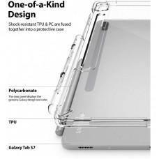 Чехол накладка TPU Ringke Fusion для Samsung Tab S7 T870 T875 Clear (RCS4795)