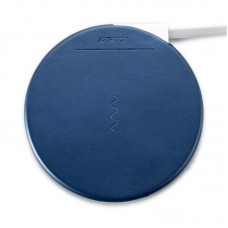 БЗУ Joyroom JR-W100 Qi 5W Leather Blue