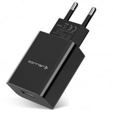 СЗУ Jellico AQC33/AQC34 1USB 3A QC3.0 Black (RL055216) + cable USB-MicroUSB