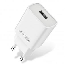 Зарядное устройство сетевое Jellico AQC33/AQC34 1USB 3A QC3.0 White (RL055775) + cable USB-MicroUSB