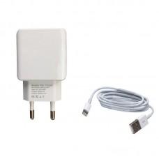 Зарядное устройство сетевое Jellico A22 1USB 2.1A White (RL057581) + cable USB-Lightning