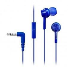 Наушники гарнитура вакуумные Panasonic RP-TCM115GC-A Blue