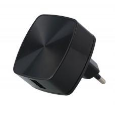 Адаптер сетевой Remax QC3.0 1USB 3A Black (RP-U114-BLACK)