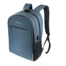 Рюкзак для ноутбука 15.6 Grand-X RS-425BL Blue (кодовый замок)