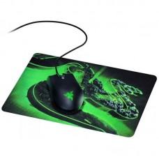 Мышь Razer Abyssus Black USB + Игровая поверхность Razer Goliathus Mobile Construct (RZ83-02730100-B
