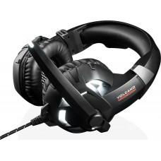 Наушники гарнитура накладные Modecom MC-849 Volcano Shield Black (S-MC-849-SHIELD)