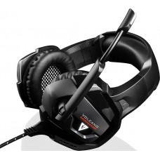 Наушники гарнитура накладные Modecom MC-859 Volcano Bow Black (S-MC-859-BOW)