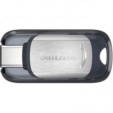 Флешка USB 3.1 128GB Type-C SanDisk Ultra Silver (SDCZ450-128G-G46)