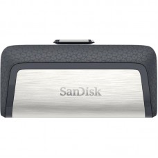 Флешка USB 3.1 16GB Type-C SanDisk Ultra Dual Silver (SDDDC2-016G-G46)