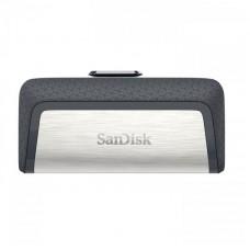 Флешка USB 3.1 32GB Type-C SanDisk Ultra Dual Silver/Black (SDDDC2-032G-G46)