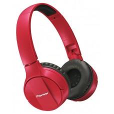 Наушники гарнитура накладные Bluetooth Pioneer SE-MJ553BT Red (SE-MJ553BT-R)