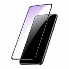 Защитное стекло Baseus Full Glue 0.2mm Arc-Surface для iPhone XS Max 6.5 Black (SGAPIPH65-HE01)