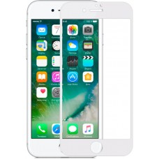 Защитное стекло Baseus Full Glue 0.23mm для iPhone 6 6S 7 8 White (SGAPIPH7S-ZD02)