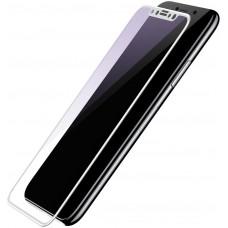Защитное стекло Baseus 3D Full Glue 0.3mm Silk-Screen для iPhone X White (SGAPIPHX-A3D02)