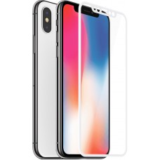 Защитное стекло Baseus Silk-Screen Anti-Blue Light для Apple iPhone X White (SGAPIPHX-GES02)