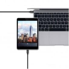 Кабель USB-Type-C Spigen Essential C10C0 1m Black (SGP11579)
