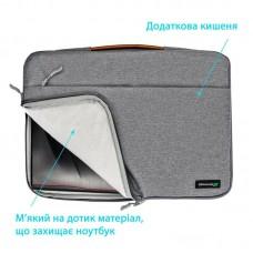 Сумка для ноутбука Grand-X SLX-15G 15 Grey