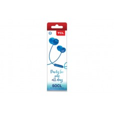 Наушники гарнитура вакуумные TCL SOCL100 Ocean Blue (SOCL100BL-EU)