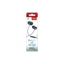 Наушники гарнитура вакуумные TCL SOCL300 Phantom Black (SOCL300BK-EU)