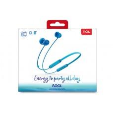 Наушники гарнитура вакуумные Bluetooth TCL SOCL300BT Ocean Blue (SOCL300BTBL-EU)
