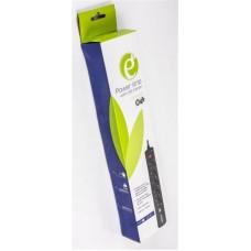 Сетевой фильтр EnerGenie (SPG5-U2-5) 5 розеток 2USB 1.5m 16A Black