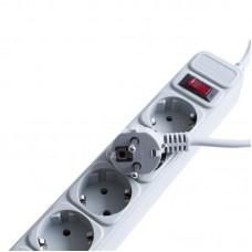 Сетевой фильтр Smartfortec (SPS5-G-15G) 5 розеток 4.5m 10A Grey