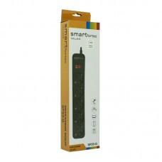 Сетевой фильтр Smartfortec (SPS5-G-6B) 5 розеток 1.8m 10A Black