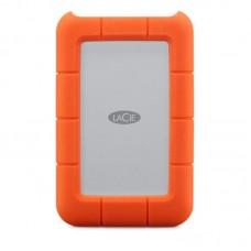 "Внешний жесткий диск HDD 2.5"" USB-Type-C 3.0 1Tb LaCie Rugged Orange/Silver (STFR1000800)"