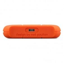 "Внешний жесткий диск HDD 2.5"" USB-Type-C 4Tb LaCie Rugged Orange (STFR4000800)"