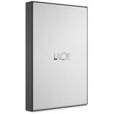 "Внешний жесткий диск HDD 2.5"" USB 3.0 1Tb LaCie Drive Silver (STHY1000800)"