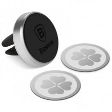 Автодержатель Baseus Magnetic Black (SUGENT-MO01)
