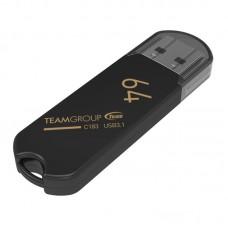 Флешка USB 3.1 64GB Team C183 Black (TC183364GB01)